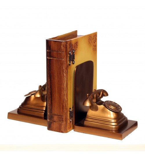 KUK-13101 TELEPHONE BOOKEND PAİR